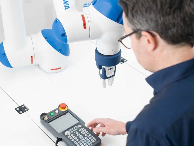 Samarbete robot-människa i praktiken